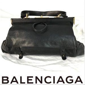 Balenciaga Convertible Black Bag Excellent